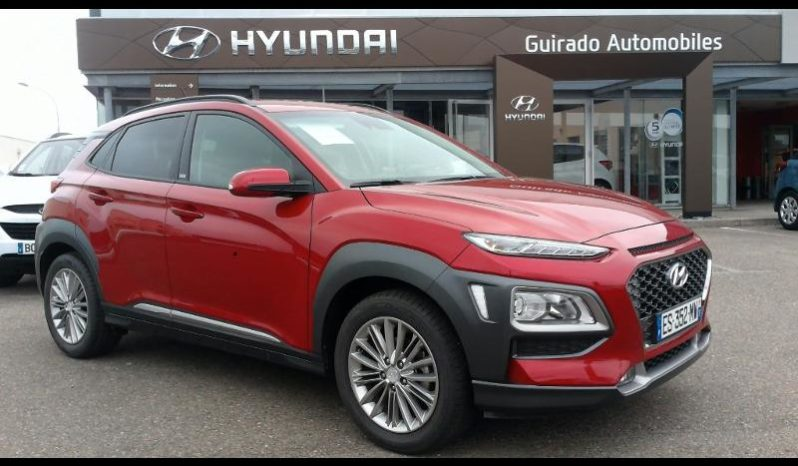 hyundai kona 1 0 t gdi 120ch edition 1 guirado automobile. Black Bedroom Furniture Sets. Home Design Ideas